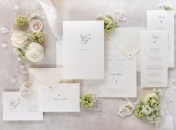 Hochzeits-Papeterie-Set … gefertigt von Hand in der Manufaktur