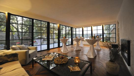 Orangerie – Veranstaltungsraum in der Hochzeitslocation am See