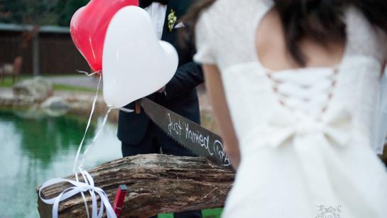 Hochzeit in der Location am See