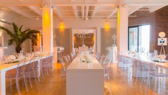 Loft für urbane Hochzeit in Berlin